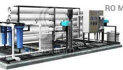 9000 LPH RO Plant With Ultraviolet