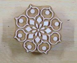 Flower Pattern Wooden Printing Blocks