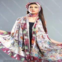 Cotton Modal Digital Printed Shawls , Scarves