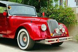 Morgan Style Vintage Car