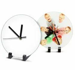 Glass Photo Frame Clock BL-27