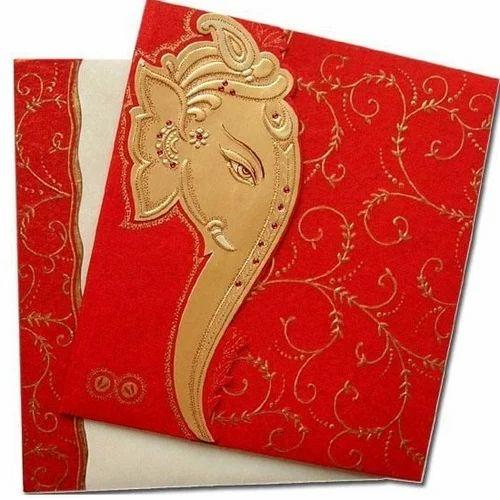 Ganpati Wedding Invitation Card