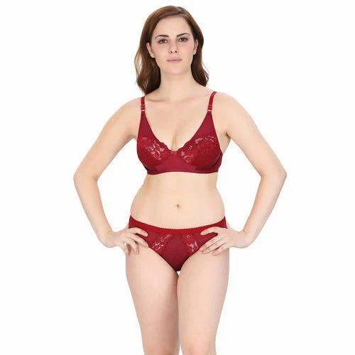 e2d0a8bda62 Cotton And Lace Ladies Lingerie Set, Rs 90 /set, Tan Design House ...