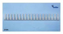 White Plastic Railing Miniature