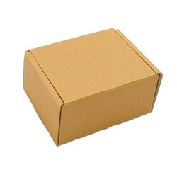 Kraft Paper Brown E Flute Corrugated Boxes, for Packaging, Box Capacity: 1-5 Kg