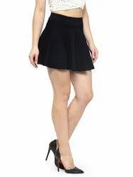 parineeti Blue Denim Short Mini Skirt