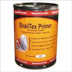 Oil Based Bituminous Primer For Waterproofing And Damp-proofing (ShaliTex Primer)