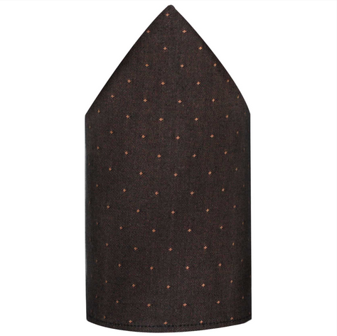 Brown Clic Pocket Squares Size 12 X