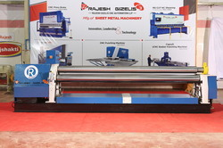 Hydraulic Sheet Rolling Machine