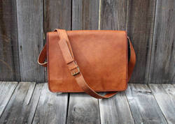 Vintage Leather Messenger Bag, Laptop Bag, Handmade Leather Bags, Cross Body Bags