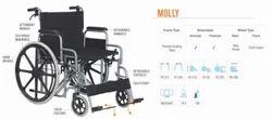 Molly Heavy Duty Wheelchair