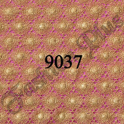 GPO Design Orange Lace Fabric