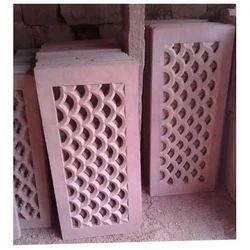 Pink Sandstone Jali