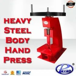 Steel Body Hand Press
