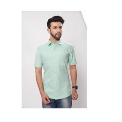 Short Sleeved Cotton Shirt