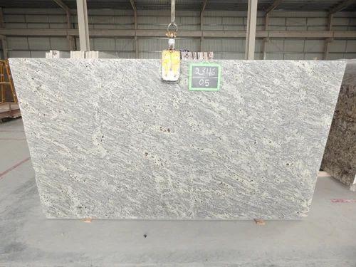 Kashmir White Polished Granite Slab 20 25 And 25 Mm Application