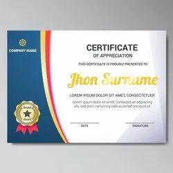 Paper Certificate Printing Service, in Mumbai