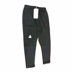 XL, XXL Black Ladies Interlock Capri
