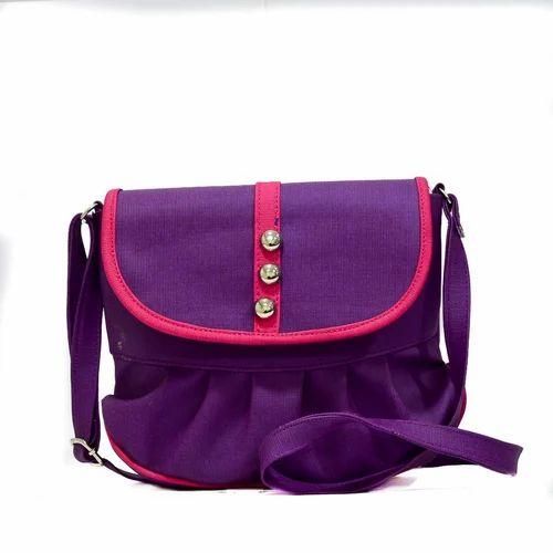 Girls Sling Bag - Girls Stylish Sling Bag Manufacturer from Mumbai