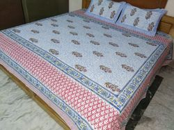 Double Bed Sheets And Pillow Cover