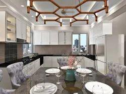 Kitchen Interior Design Service, Size: 12x16