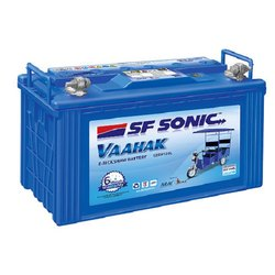 SF Sonic Vaahak E Rickshaw Battery, Capacity: 120 Ah, Model Name: Vaahak 12SV120L