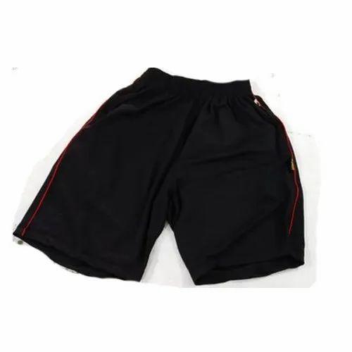 pretty nice 8dca8 fd82d Black Men  s Nylon Shorts, Size  S