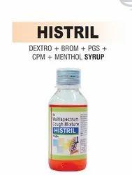 Dextromethorphan & Bromhexine & Chlorpheniramine Malate and Menthol Syrup