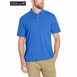 ADS Players Mens Plain Polo Cotton T shirt, Size: S to XL