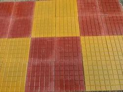 Cement Chequered Tiles