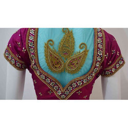 Ladies Embroidered Designer Blouse