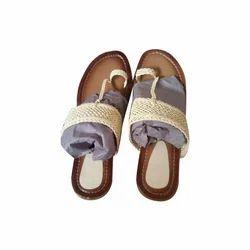 Celocity Brown Ladies Flat Sandal