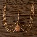 Wedding & Engagement Antique Bore Damini With Gold Plated 203194