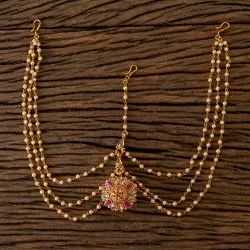 Antique Bore Damini with Gold Plated 203194
