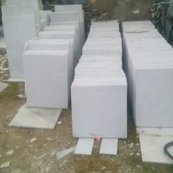 Indian Marble White Agria Tiles, Thickness: 13, for Flooring