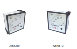 Ammeters And Voltmeters, Size: 72mm 96mm, 50a