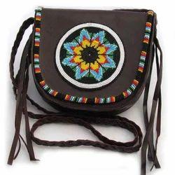 Multicolor Leather Women Handbag