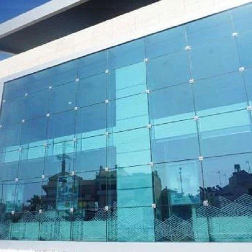 Transparent Spider Glass Facade Rs 850 Square Feet V R