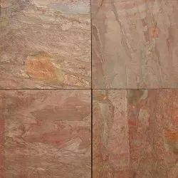 Pure Pink Slate Stone, Thickness: 8mm - 30mm