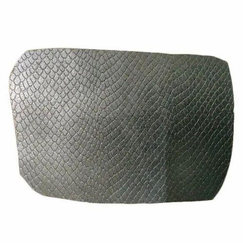 Black Plain Grain Upholstery Leather for Furniture Making Purpose