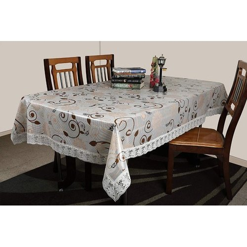 Pvc Rectangular Printed Dining Table, What Size Tablecloth For A 72 Table