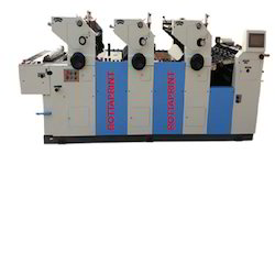 Three Color Mini Offset Printing Machine
