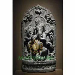 black marble ganesh idol