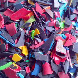 Colored LDPE Plastic Scrap