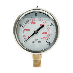 Industrial Air Pressure Gauge