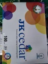 JK Cedar Paper A4 Size Alabaster
