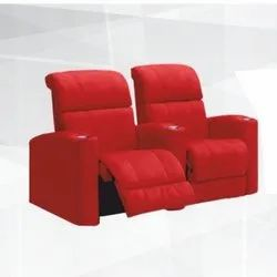 Bosco Red Theater Recliner Chair