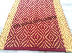 Woven Abstract Chevron Cotton Rugs, Size: 4x6 Ft