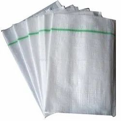 White HDPE Woven Laminated Bag, Packaging Type: Packet