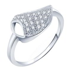 Ladies Finger Silver Ring